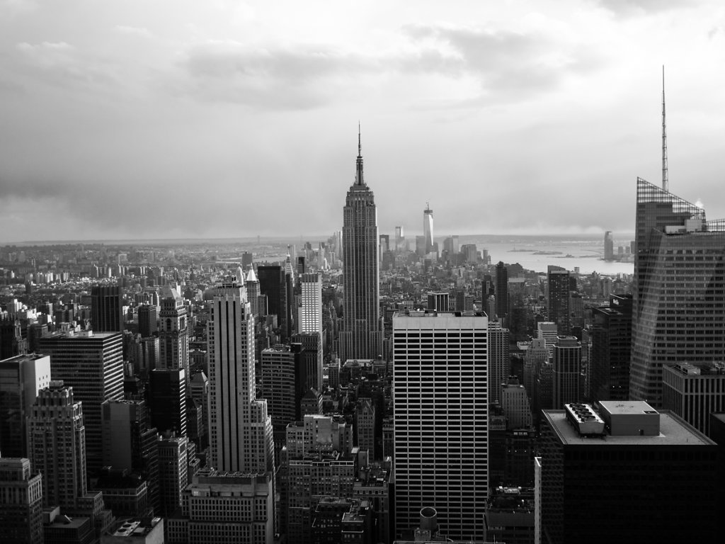 skyline // new york