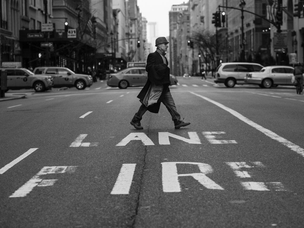 lane on fire // new york